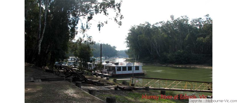 Riverboat terminal - Echuca