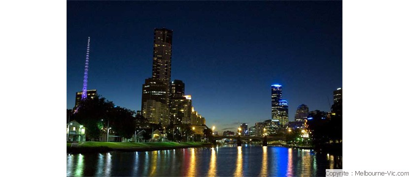 Yarra at night