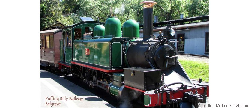 Puffing Billy Railway engine